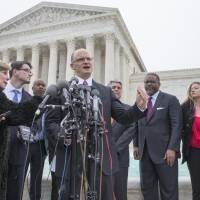 U.S. justices clash over university affirmative action policies; Kennedy says ruling may elude