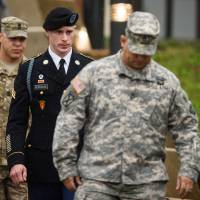 Taliban ex-captive Bowe Bergdahl arraigned, charged with desertion, misbehavior before enemy