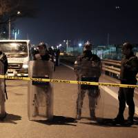 Five hurt when apparent homemade cluster bomb goes off near Istanbul subway station