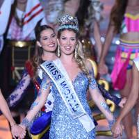 Spaniard wins Miss World title in China