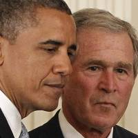 On Muslims, Democrats find an unlikely ally: George W Bush