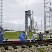 Weather-delayed Orbital freighter heads back to ISS with key supplies, toiletries