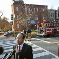 White powder scare spurs evacuations of Muslim group's U.S. HQ, branch as harassment fears mount