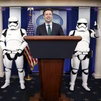 'Star Wars' mania hits White House