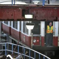 Boston rail workers honored for safely stopping driverless runaway commuter train