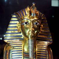 Tutankhamun's mask mended after botched repair