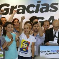 Venezuelan opposition wins control of National Assembly in landslide