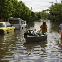 El Nino hits Latin America: Rain claims five, forces 150,000 to flee floods while north dries up