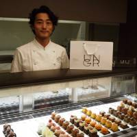 After honing his patisserie skills at highly regarded restaurants such as Guy Savoy and Le Chiberta in Paris and the Alain Ducas-produced Benoit in Tokyo, chef Fumiyuki Kanai has gone solo with Un Grain, a shop in Tokyo's Aoyma specializing in mignardises. | MARK THOMPSON