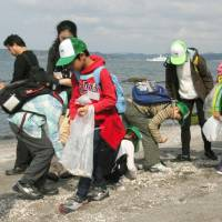 Boso beachcombers find treasures in the sand