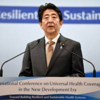 Japan hosts international health conference ahead of G-7 summit