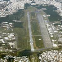 Okinawa man held over laser-shining incident involving U.S. aircraft
