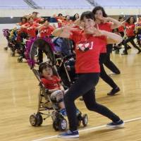 'Stroller dance' helps socially isolated Japanese moms get back into swing of life