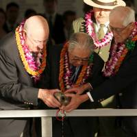 Pearl Harbor ceremony unites former U.S. and Japanese pilots