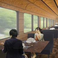 Seibu to debut dinner trains featuring local fare on its scenic Chichibu Line from spring
