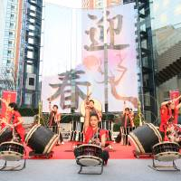 Wadaiko Japanese drumming will take place at Roppongi Hills on Jan. 1. | COURTESY OF ROPPONGI HILLS