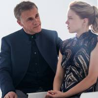 Playing the villain: Christoph Waltz (left) plays villain Franz Oberhauser and Lea Seydoux (right) plays Dr. Madeleine Swann in 'Spectre.' | SPECTRE © 2015 METRO-GOLDWYN-MAYER STUDIOS INC., DANJAQ, LLC AND COLUMBIA PICTURES INDUSTRIES, INC. ALL RIGHTS RESERVED