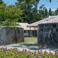 The royal complex is well-preserved on Izena Island. | STEPHEN MANSFIELD