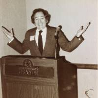 In the know: Gerald Curtis, seen here in the 1970s, won the admiration of academics for his insight into Japanese politics. | COURTESY OF THE CURTIS FAMILY