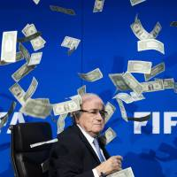 FIFA suspends Blatter, Platini for eight years