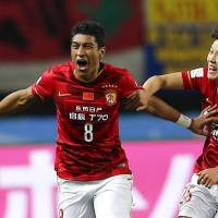 Guangzhou beats Club America to set up Barcelona semi