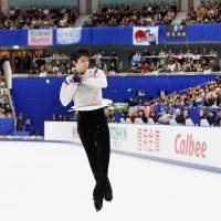 Hanyu's greatness confirmed at NHK Trophy