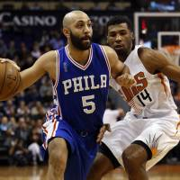 Sixers find way past Suns for second victory