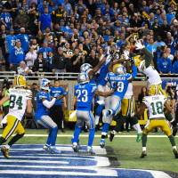 Hail Mary lifts Packers past stunned Lions on final play
