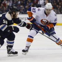 Islanders take chance against Blue Jackets