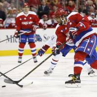 Streaking Capitals beat Canadiens