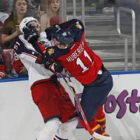 Panthers roar into lead in Atlantic