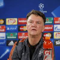 Manchester United manager Louis van Gaal is facing criticism due to his team's poor offensive showing of late. | REUTERS