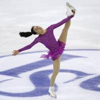 Mao third after short program at Grand Prix Final