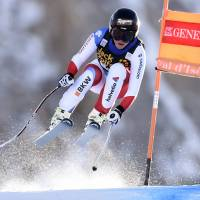 Gut tops Vonn by .01 seconds to win World Cup super-combined