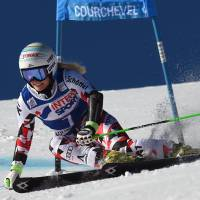 Brem denies Gut with first-place finish in giant slalom competition