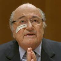 Blatter, Platini vow to fight FIFA bans