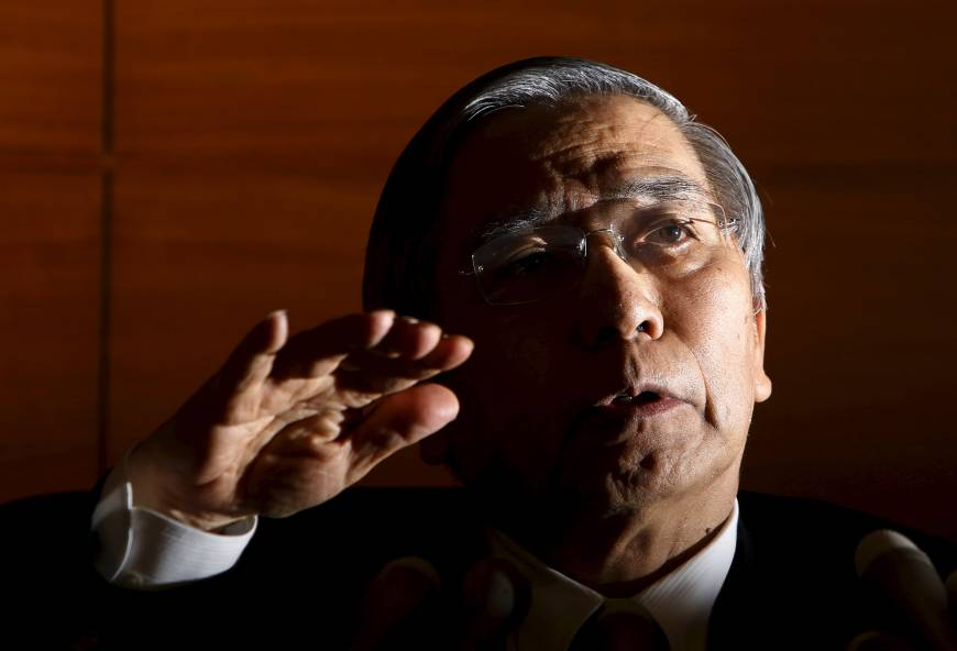 In shocking move, Japan adopts negative interest rate as deflation fight falters