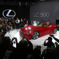 Lexus introduces $100,000 sports coupe to burnish image