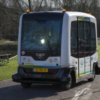 Dutch test self-drive minibuses, hope to have them operational by midyear