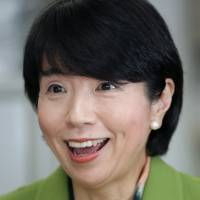 Hiroko Ota, chairman of the board of Mizuho Financial Group Inc. and a former economic and fiscal policy minister, is interviewed in Tokyo on Jan. 6. | BLOOMBERG