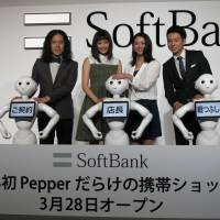 SoftBank says Pepper on a roll, will staff cellphone store in Tokyo