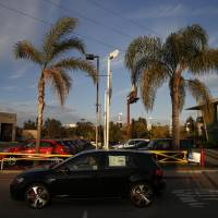A potential car buyer test drives a Volkswagen AG Golf compact off the lot of the Pacific Volkswagen dealership in Hawthorne, California, on Saturday. | BLOOMBERG