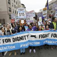 14 U.S. states to see minimum wage hike in '16, bringing national hourly average to just over $9