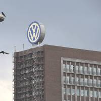 The headquarters of Volkswagen AG is seen in Wolfsburg, Germany, in this file photo taken in September. | GETTY / KYODO