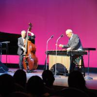 Classic jazz: Golden Senior Trio, seen here playing a gig in Osaka in October, is made up of (from left) pianist Zensho Otsuka, bassist Naosuke Miyamoto and vibraphonist Naoteru Nobushima. | KYODO