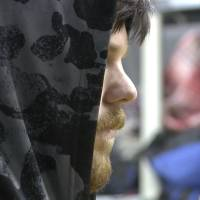 This frame grab from a Thursday video provided by Mexico's Instituto Nacional de Migracion, INM, shows a hooded Ethan Couch as he is processed by Mexican immigration agents, in Mexico City. INM said that Couch, who used an 'affluenza' defense in a 2013 fatal drunken-driving accident in Texas, was taken to the Mexico City airport from an immigration holding center, ending his month-long stay in Mexico. Couch was escorted onto a commercial plane, en route to Dallas, Thursday morning. | INSTITUTO NACIONAL DE MIGRACION, INM VIA AP