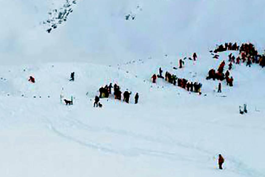 Search on for possible missing skiers after avalanche kills three in off-limits area in French Alps