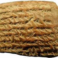 A Babylonian clay tablet dating from 350 to 50 B.C. | REUTERS