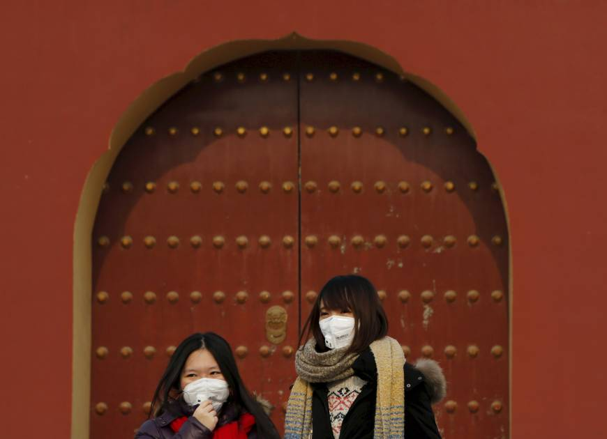 Beijing says air pollution lessened in 2015 despite smog alerts
