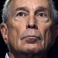 Former New York City Mayor Michael Bloomberg attends a meeting during the World Climate Change Conference 2015 at Le Bourget, France, on Dec. 5. | REUTERS
